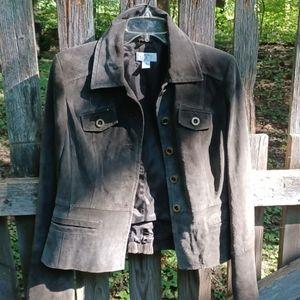 REAL Suede jacket.